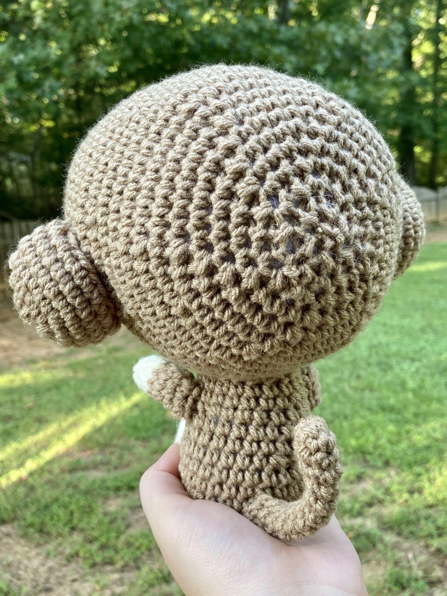 Handmade Monkey Stuffed Animal