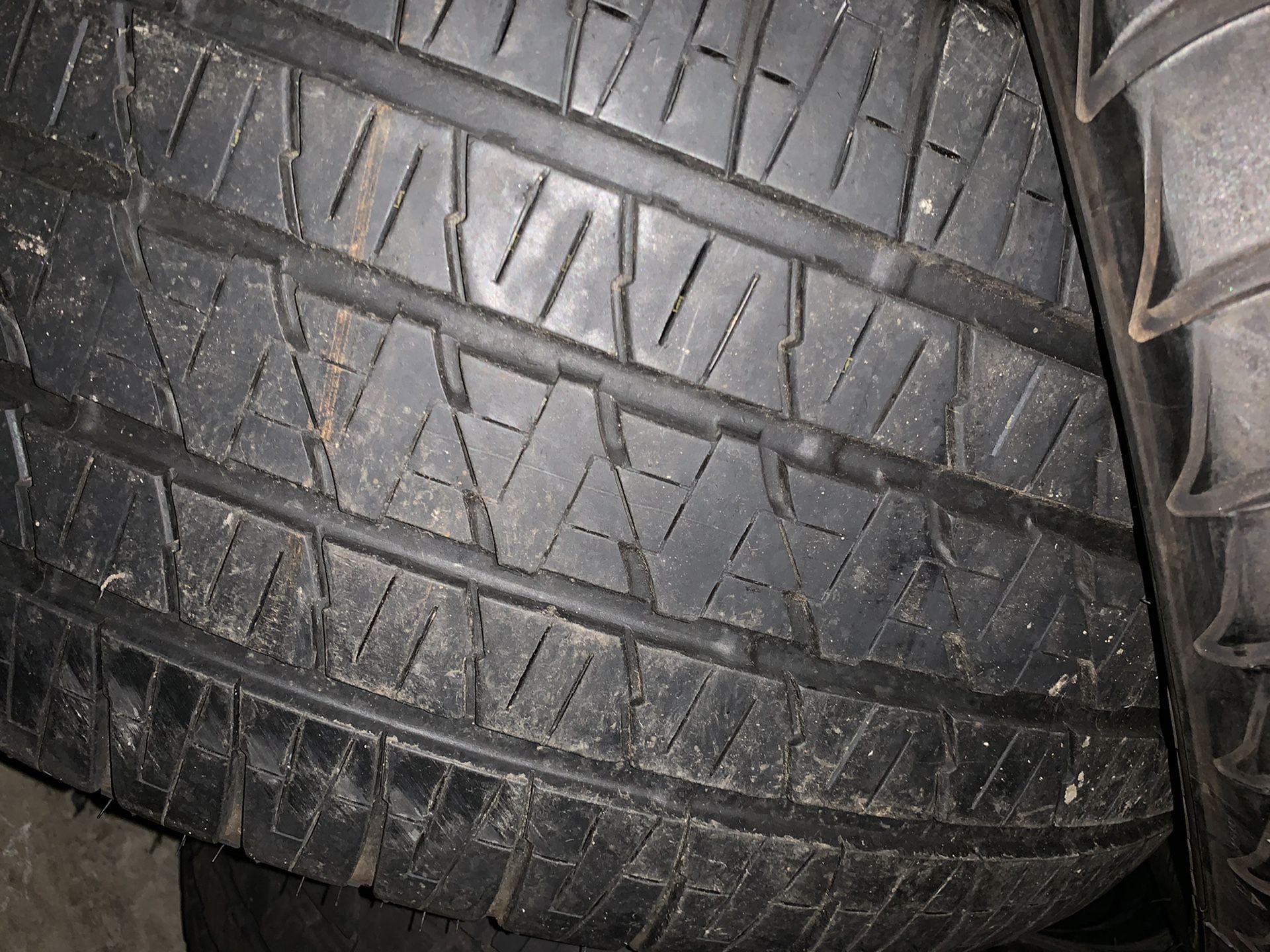 285/45/22 Bridgestone