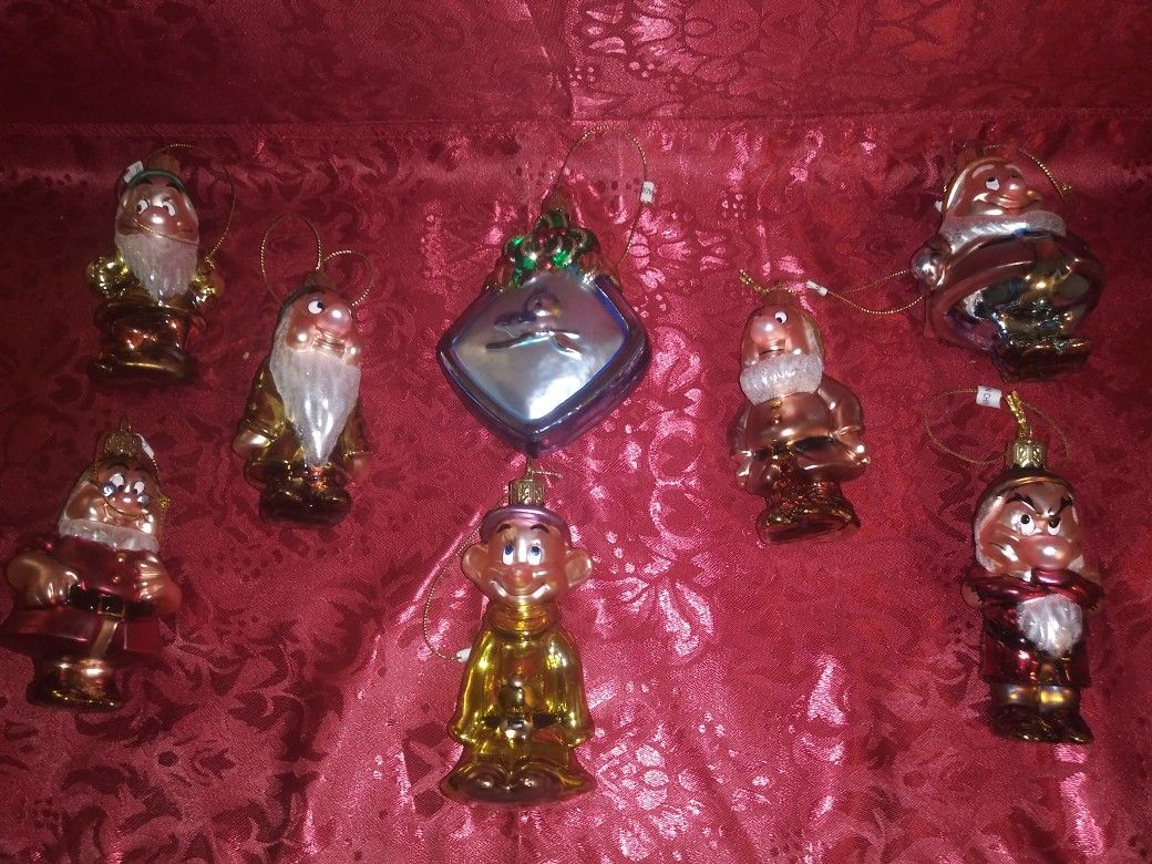 Christmas Ornaments (Snow White & The 7 Dwarfs)