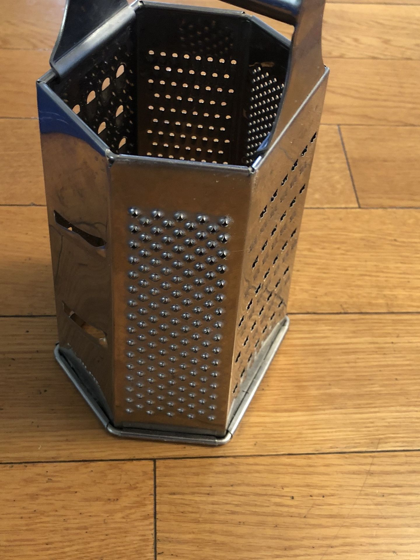 Five sided cheese grater
