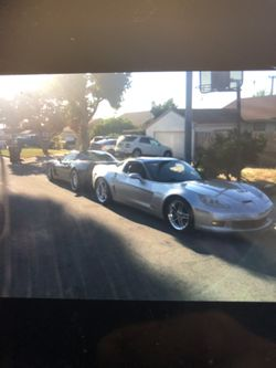 2006 ZO6 Corvette 427 17,171  Miles On New Engine Chevy 6 Speed Manual  For Sale $35,000 Thumbnail
