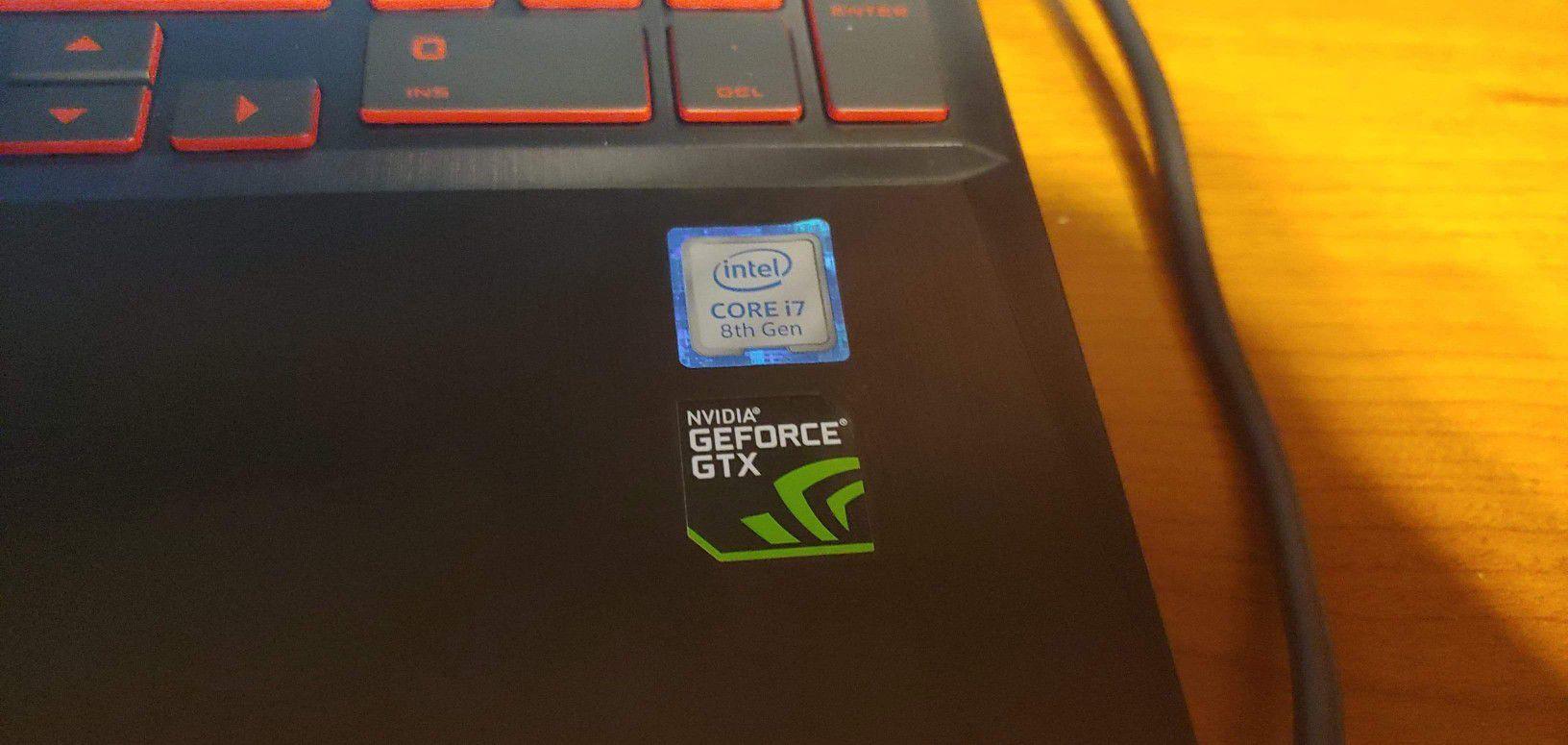 HP Oman i7 8750 laptop