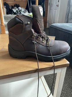 Size 8 Men's Irish Setter Work Boots  Thumbnail