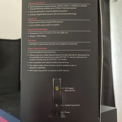 Netgear Nighthawk CM2000 DOCSIS 3.1 Cable Modem  Thumbnail