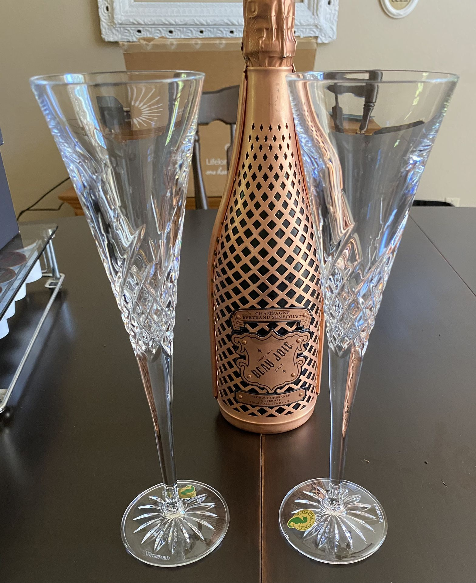 New - Waterford Crystal Flutes