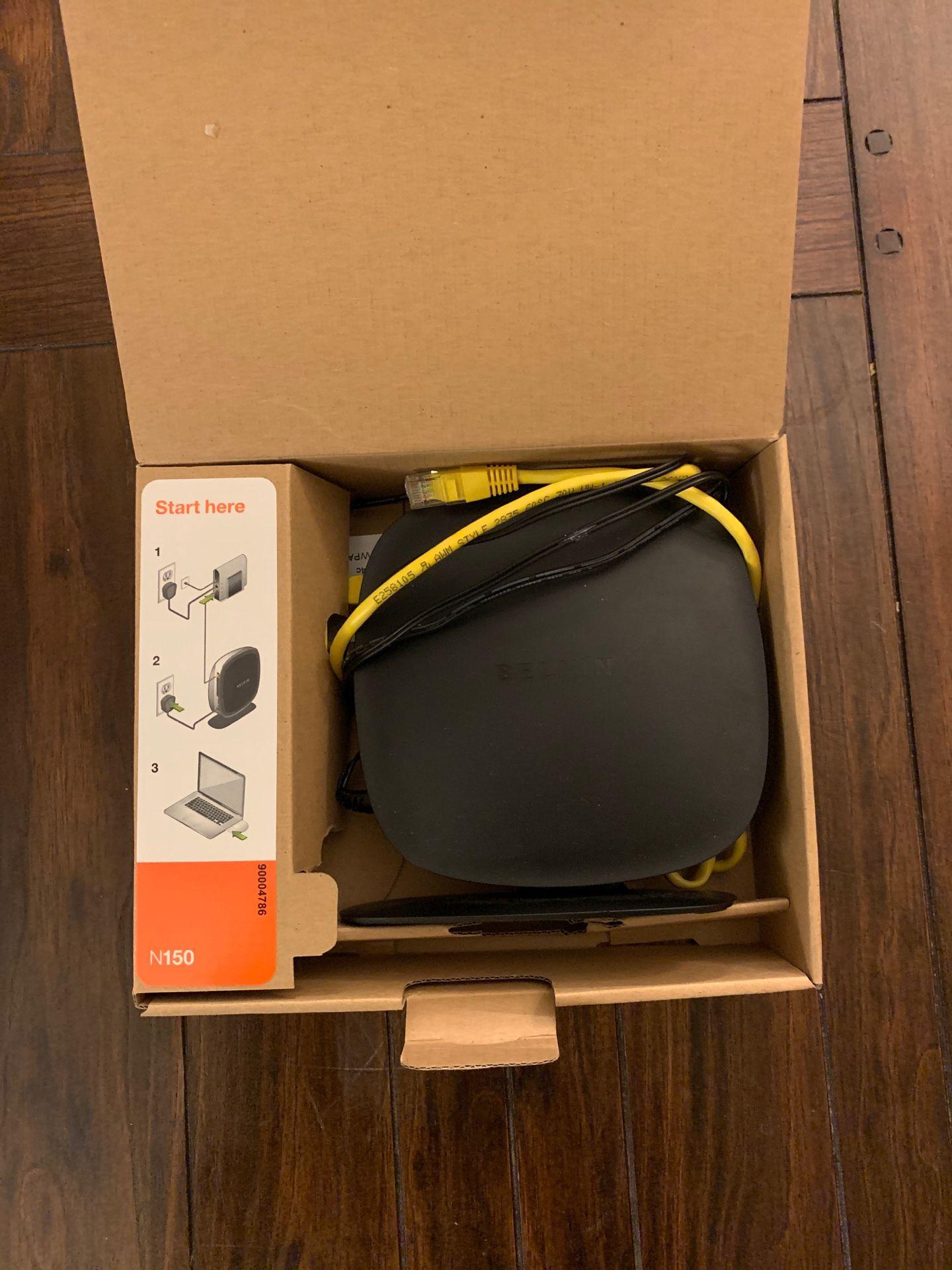 Belkin wireless router N150