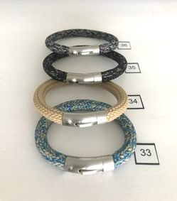 Bracelets . Leather And Rope . Clearance Collection  Thumbnail
