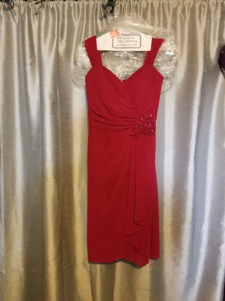 David's Bridal Bridesmaids Dress Size 2