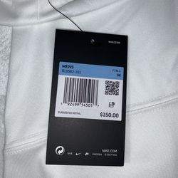 Sam Darnold Nike New York Jets NFL Vapor Limited Jersey Stitched White Size Medium Tags Still On Retail Price 150$ Thumbnail