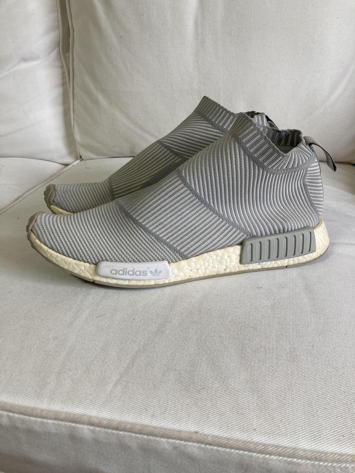Adidas NMD CS1 Light Grey Size 14 Men City Sock Boost PK Prime knit