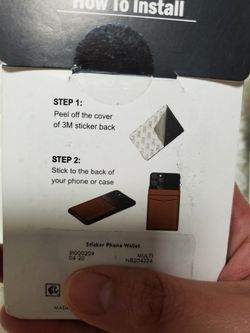 Phone Sticker Wallet/ Phone Wallet Thumbnail