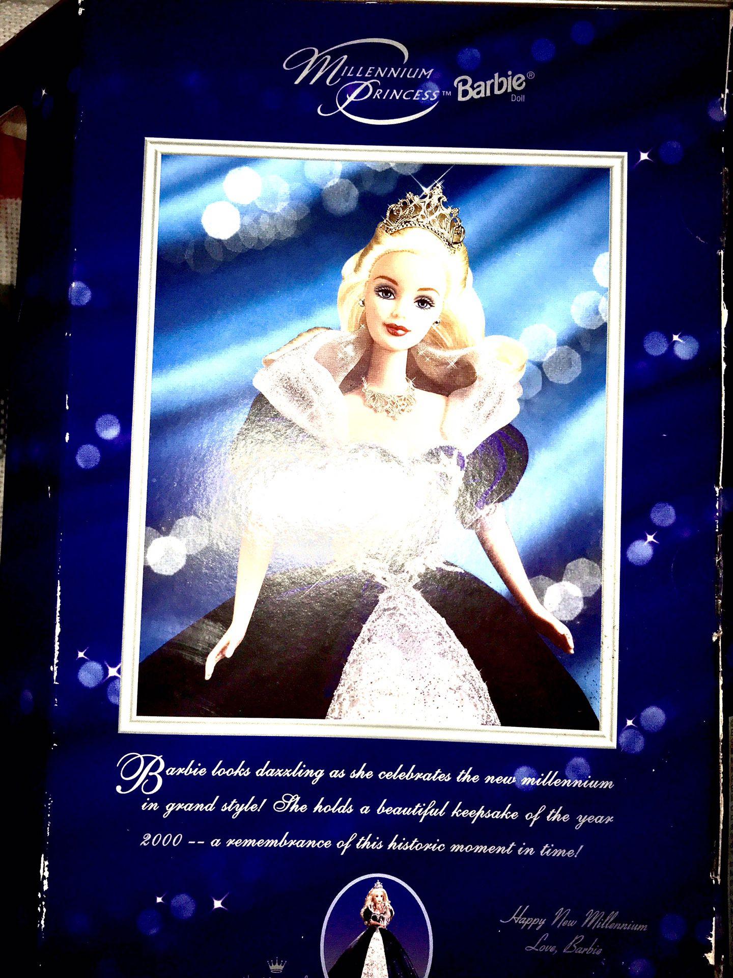Millennium Princess Barbie Doll 2000