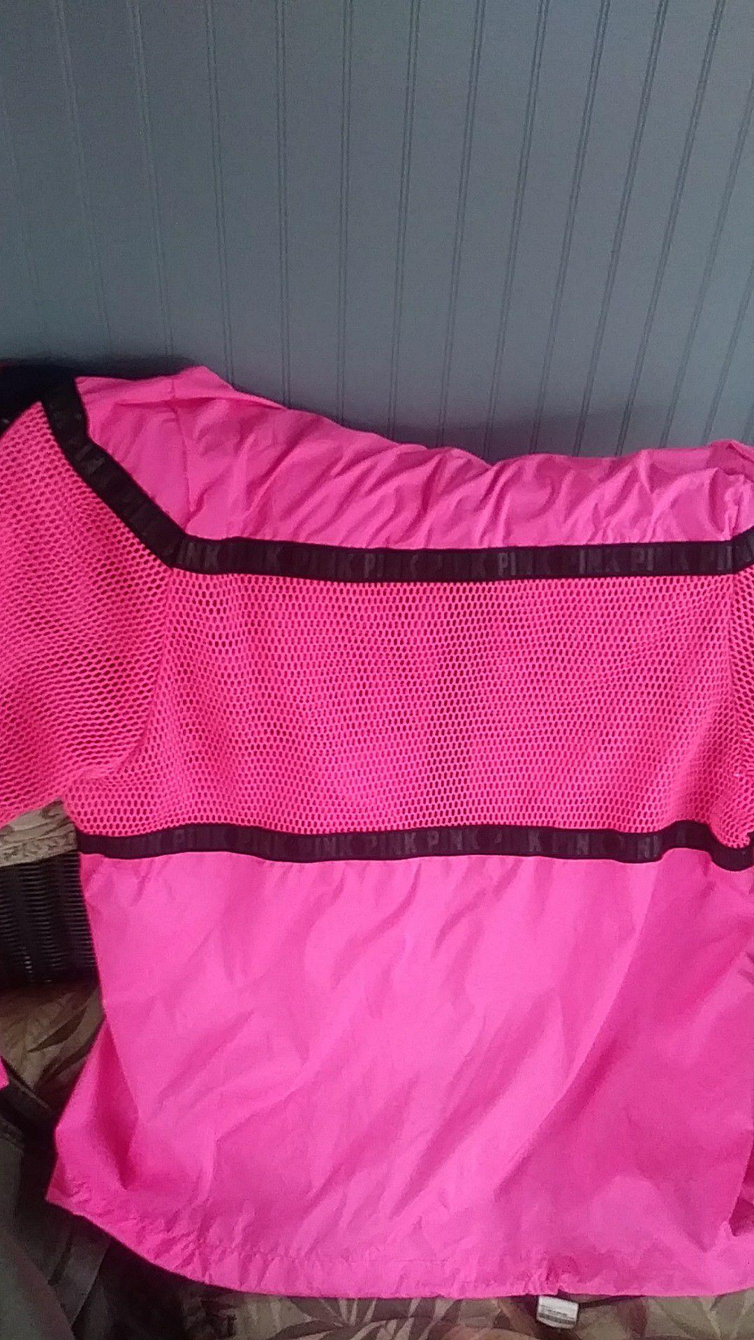 Victoria secret pink spring jacket hoodie