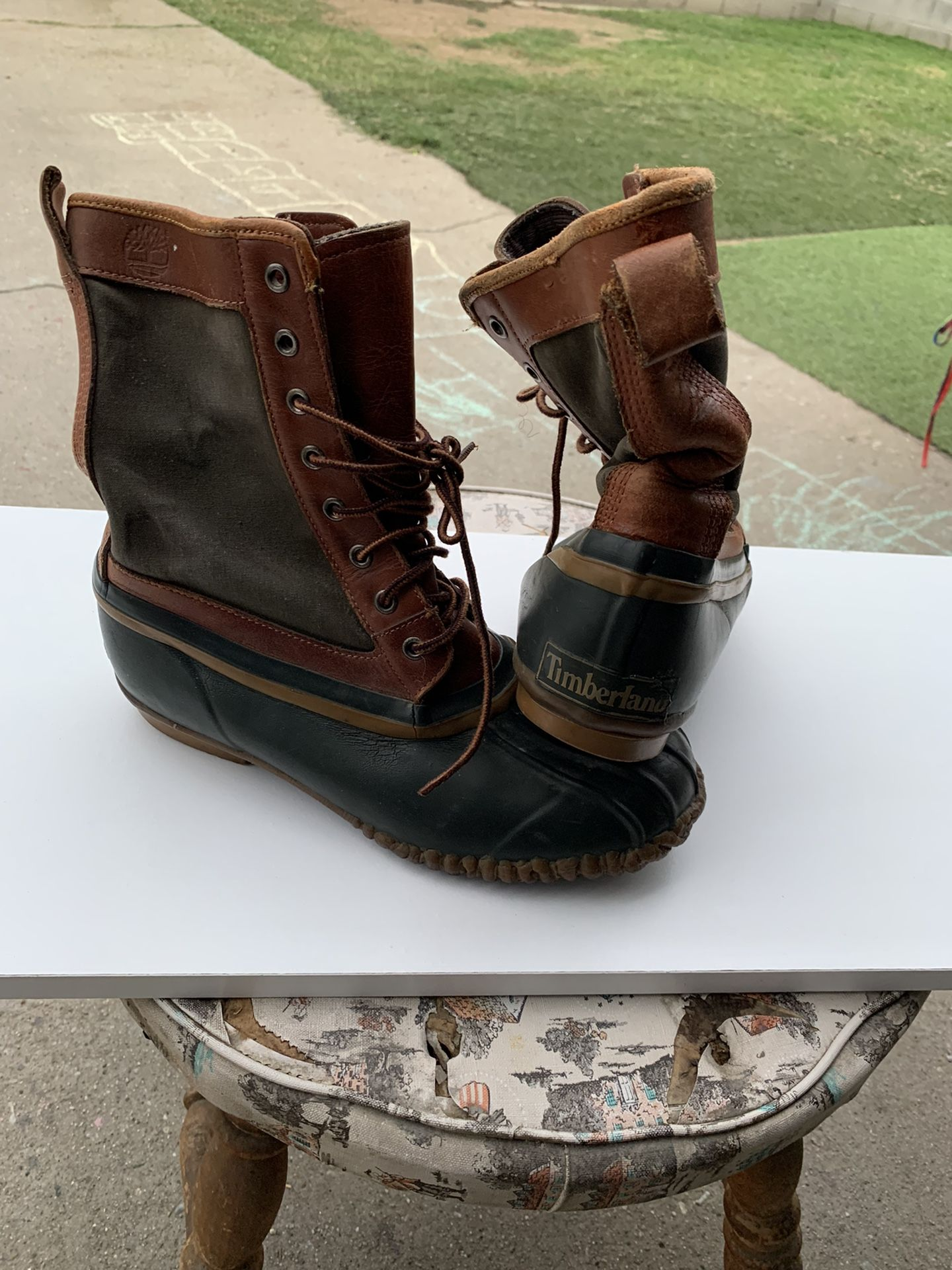 Timberland Old School Rain Boots