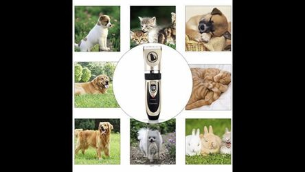 Professional Pet Clippers Thumbnail