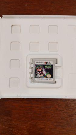 Luigi's Mansion dark moon for Nintendo 3ds Thumbnail