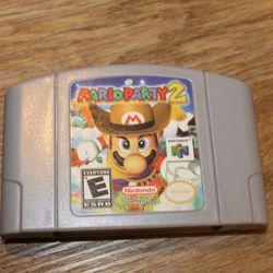 Mario Party 2 for Nintendo 64 (Reproduccion New and Perfect ) Thumbnail