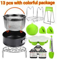Instant pot accessories 6, 8 qt for pressure cooker , kitchen kits 13 pcs Thumbnail