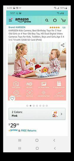 HD digital camera for kids. Thumbnail