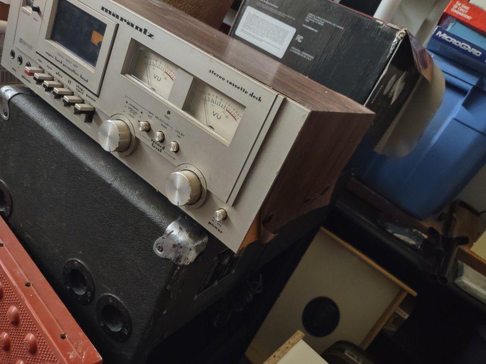 Vintage Marantz SD800 Cassette Recorder