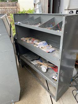 3 Metal Shelves /Storing Cabinets For Vans  $100 Thumbnail