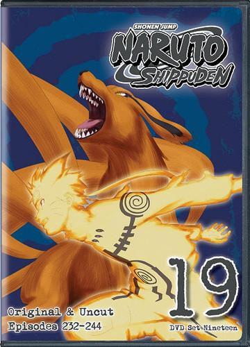Naruto Shippuden Uncut Set 19 [DVD]