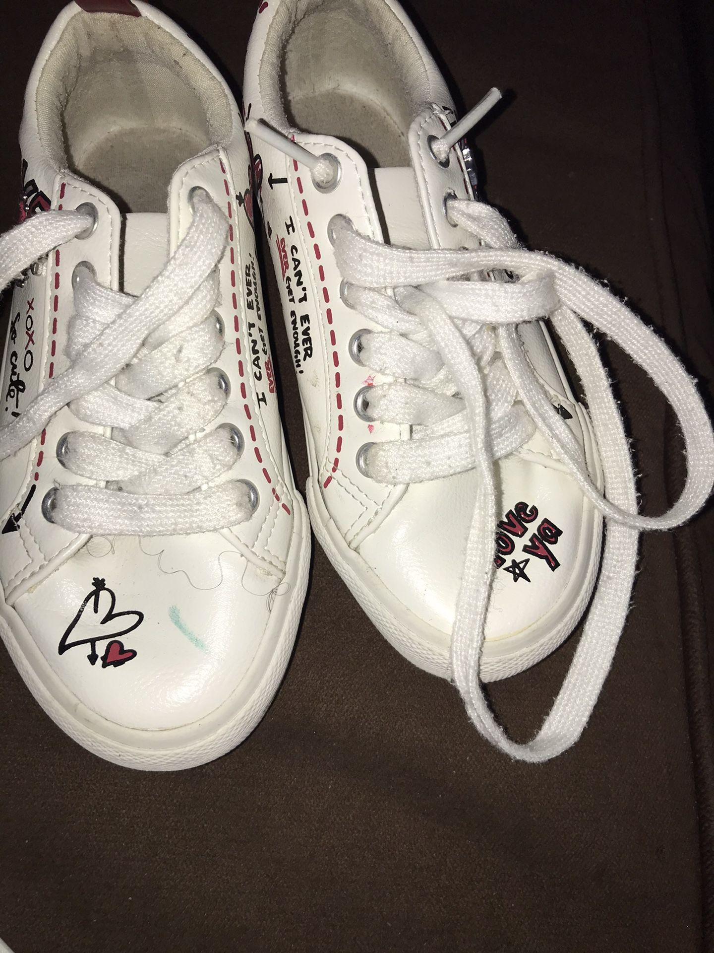 Aldo Rain Boots And self Love Tennis Little Girl Size 12