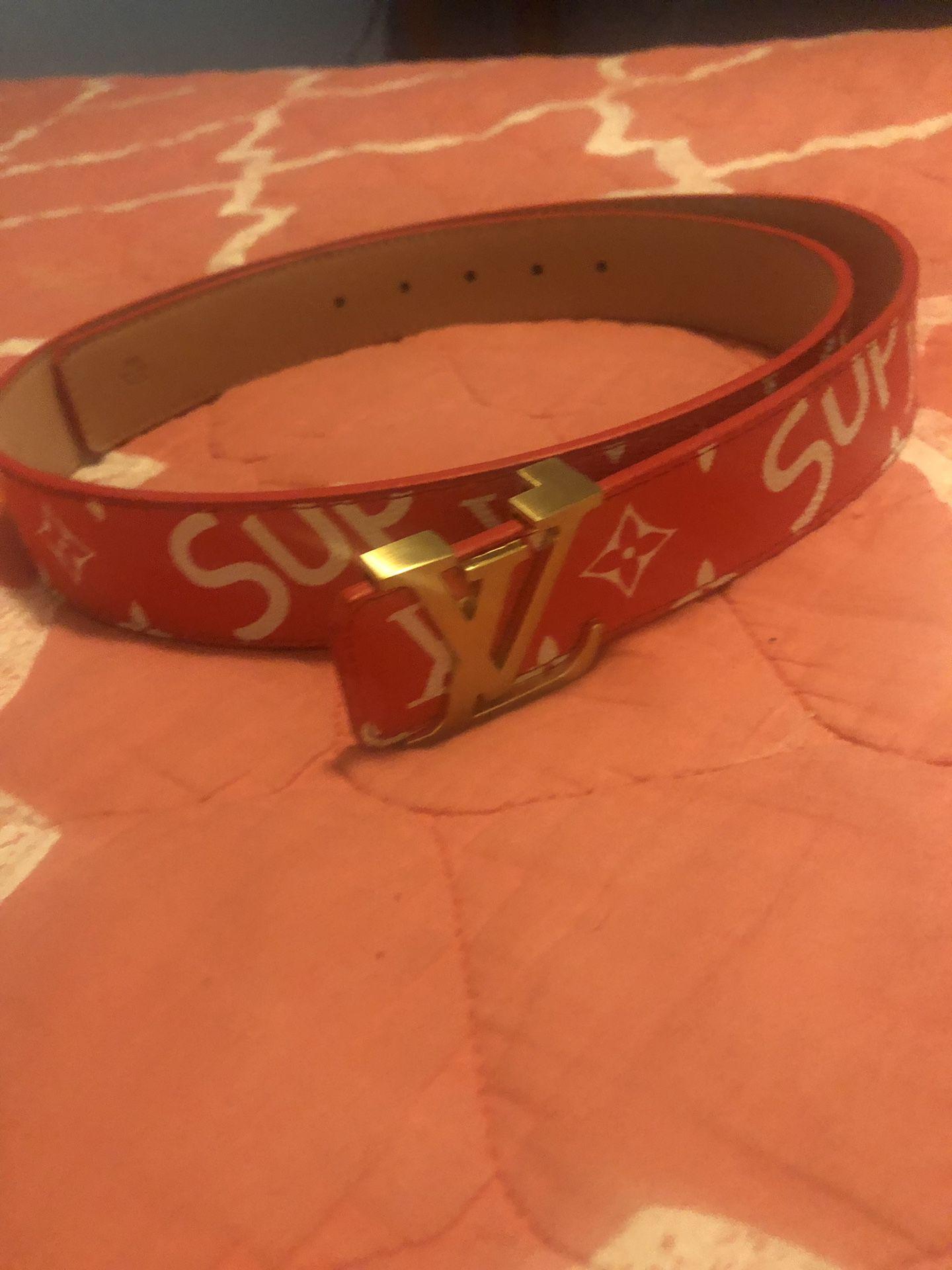 LV Supreme Belt Trades OBO$$