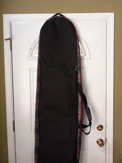Burton Red Plaid 156cm Snowboard Bag Thumbnail