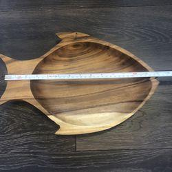 Wooden carved Fish Bowl  Thumbnail
