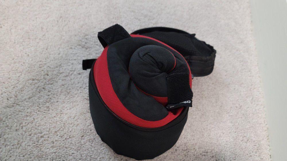 Rolls Up Travel Pillow