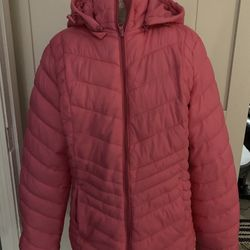 """Xersion Large """"pink Crush"""" Brand new packable jacket Thumbnail"""