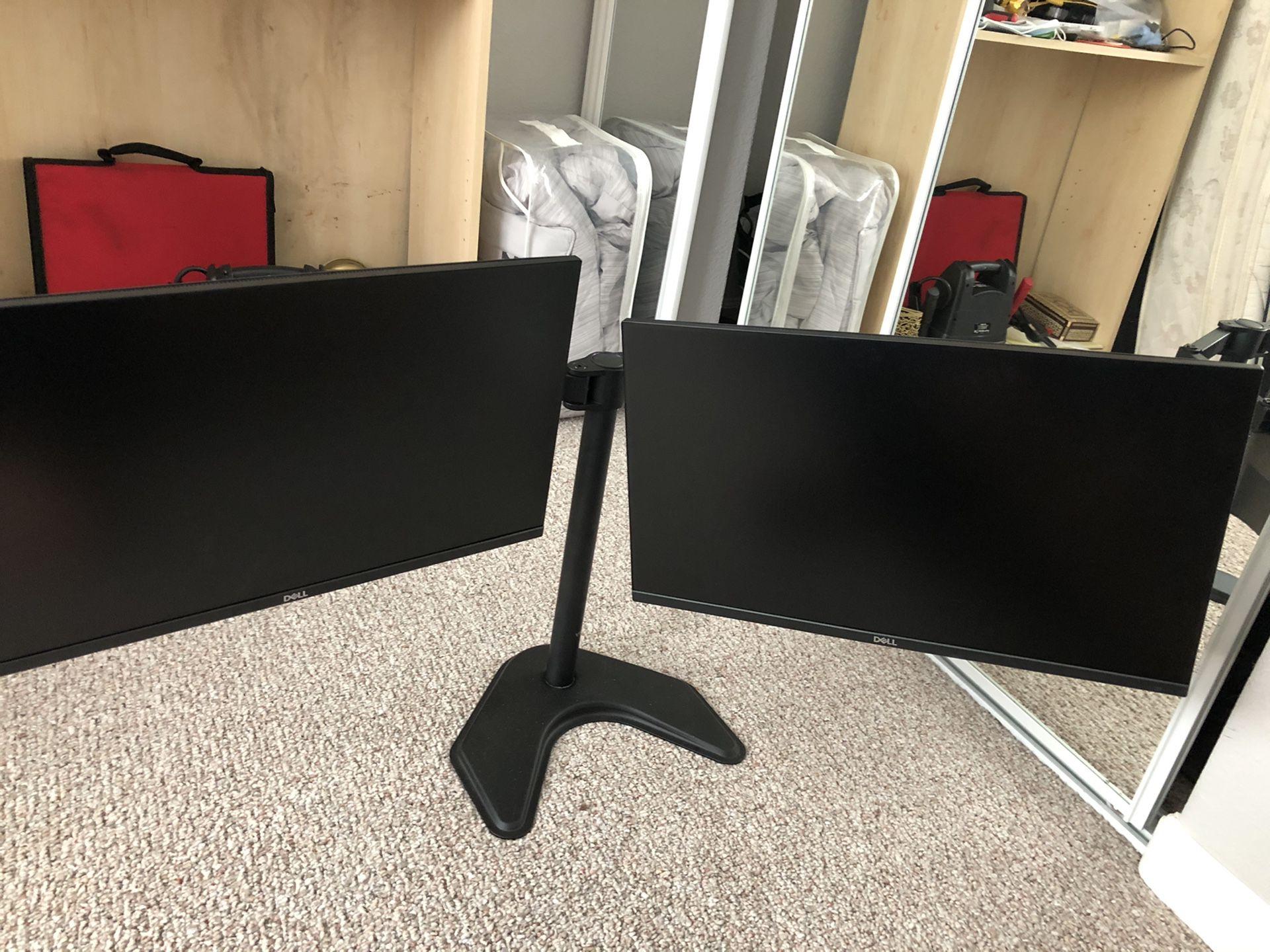 Dell UltraSharp 24 Monitor - U2415 Dual Monitor Setup