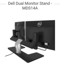 Dual dell monitor stand. MDS14A Thumbnail