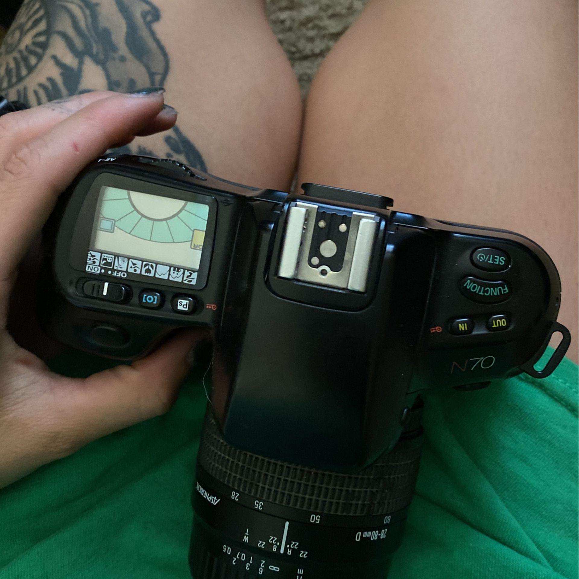 Nikon Film Camera