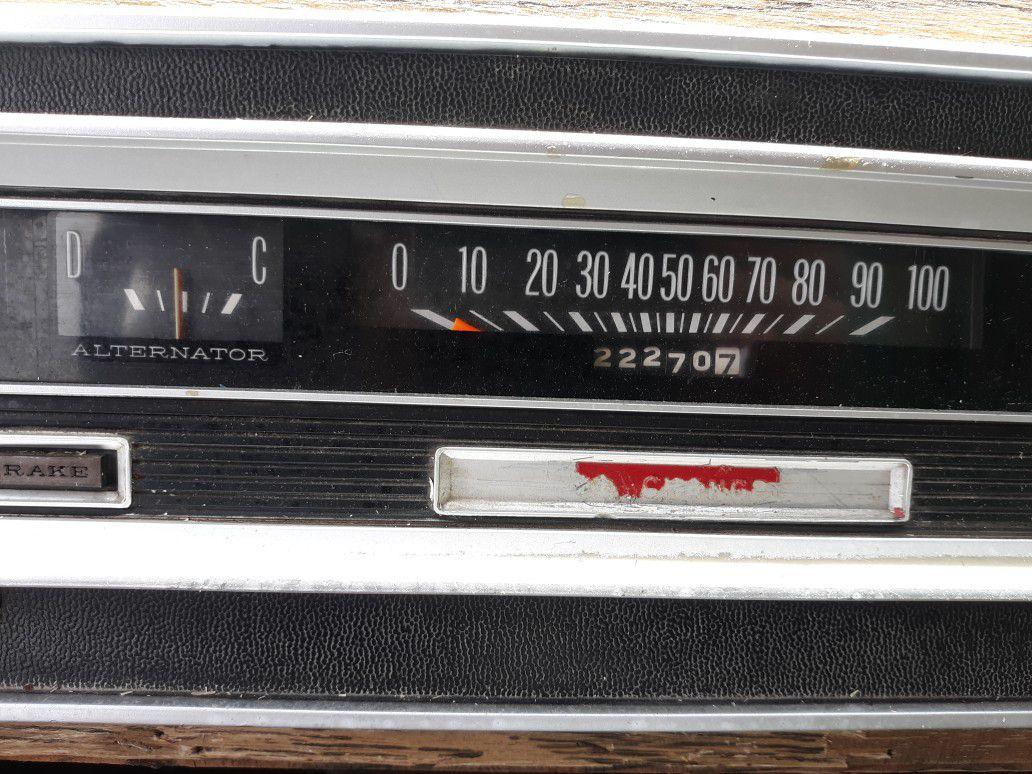 1973 Dodge Escapade 25' Motorhome