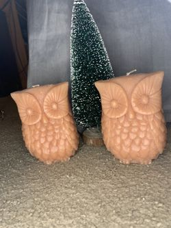 Owl candles Thumbnail