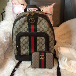 G G Backpack With Small Wallet  Thumbnail