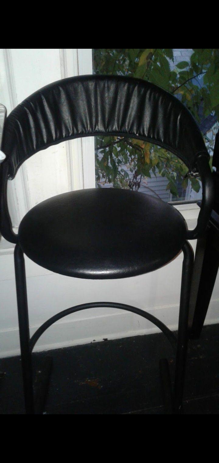 2 bar height stools