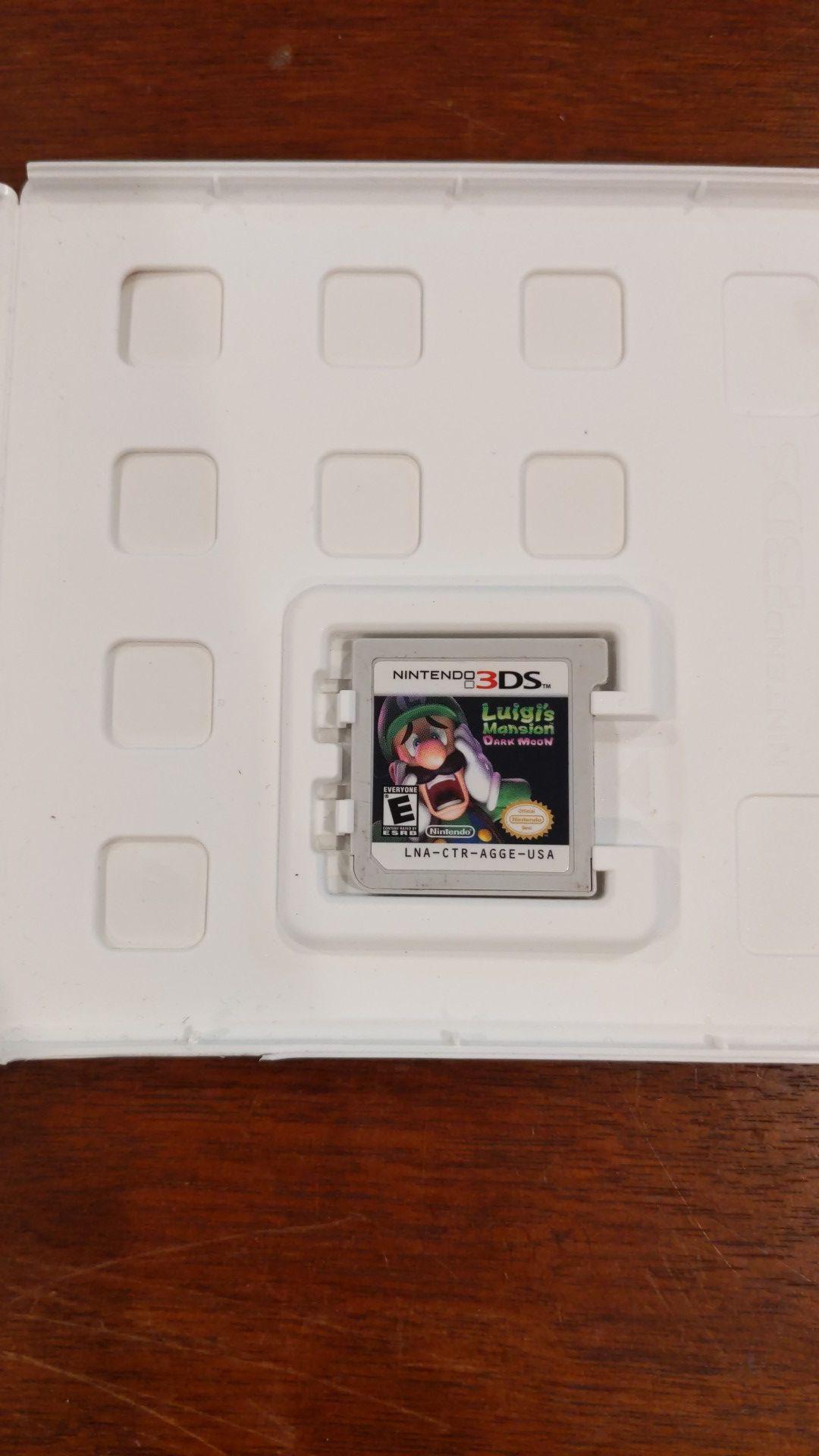 Luigi's Mansion dark moon for Nintendo 3ds