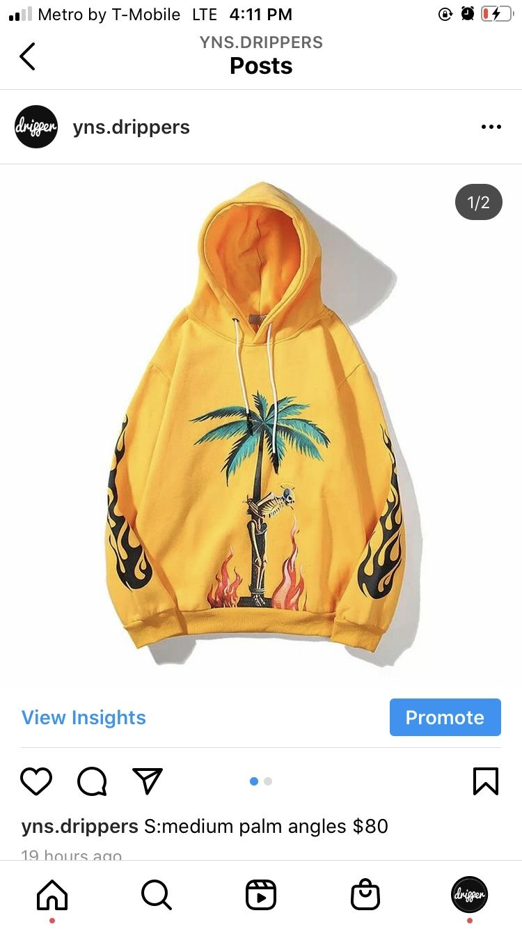 Palm angels s:Medium