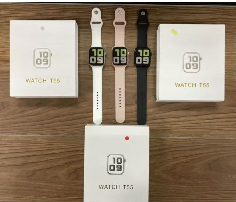 Smart Watch T55 Heart Rate Waterproof For Android IOS Iphone