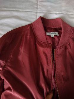 Rose pink bomber jacket !! Thumbnail