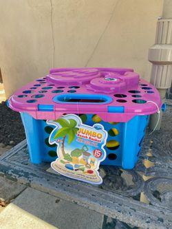 Next Wave Jumbo Beach Basket Thumbnail