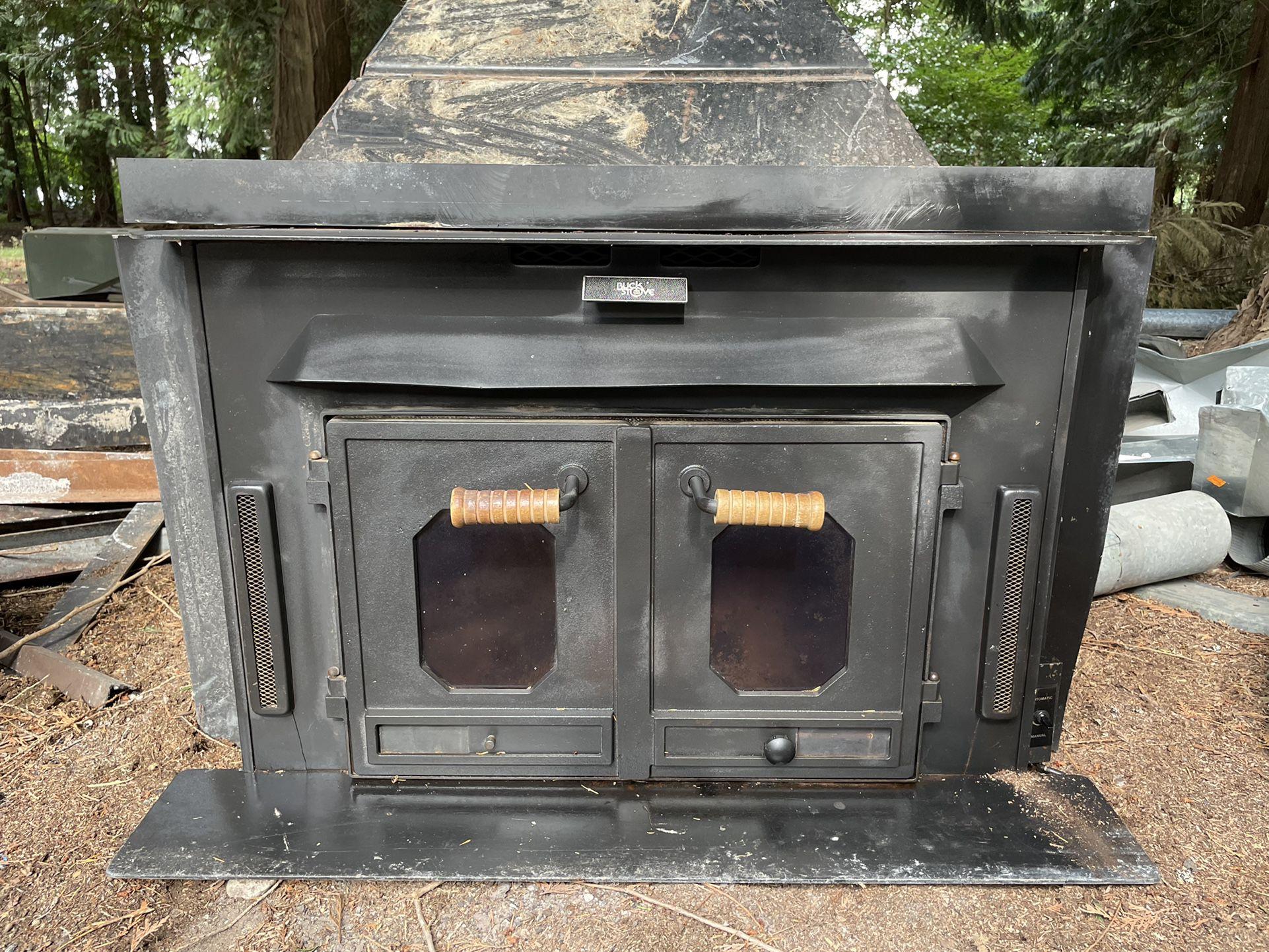 Buck Stove Wood Burning Fireplace Insert