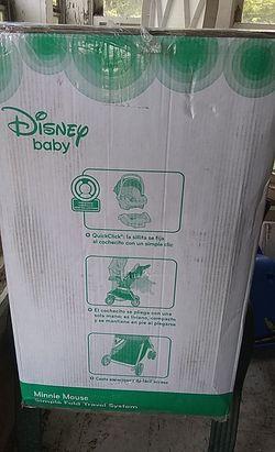 Minnie mouse stroller & car seat Thumbnail