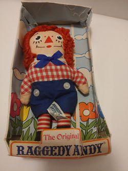 Raggedy Andy Doll Thumbnail