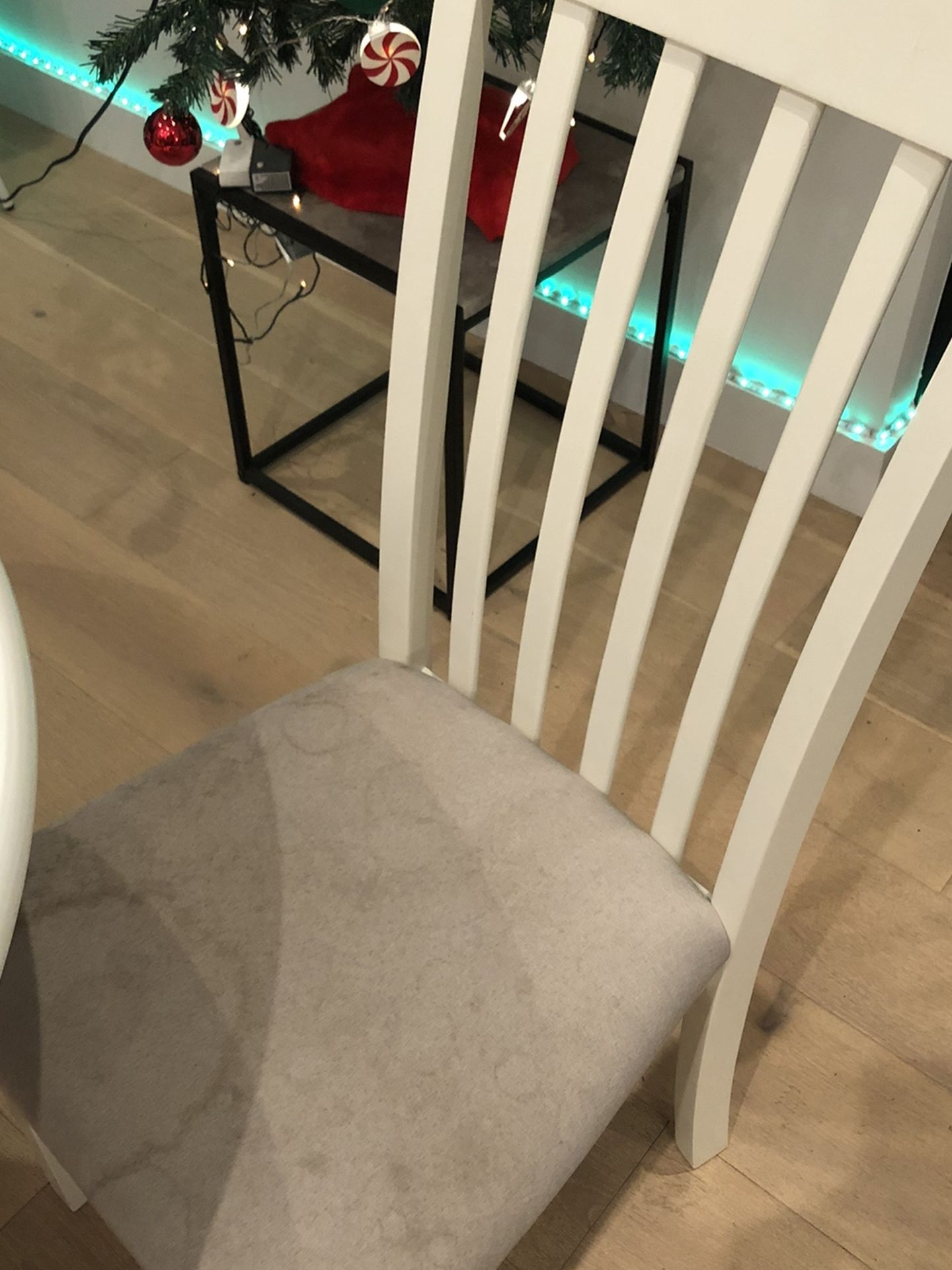 2 Chairs - Ashley Slannery Dining Room Chair, White