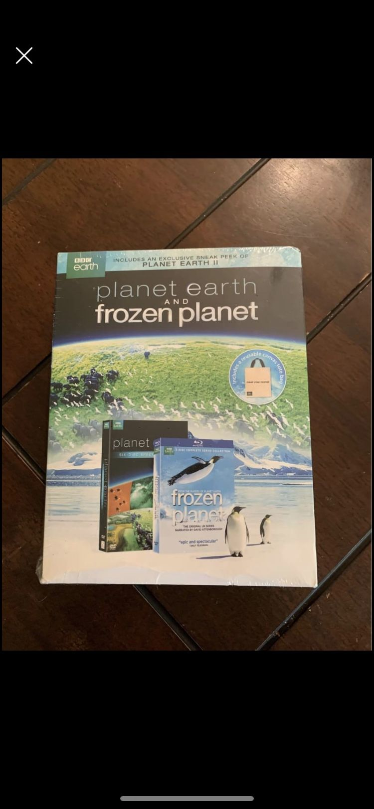 Planet earth & Frozen planet box set BRAND NEW!