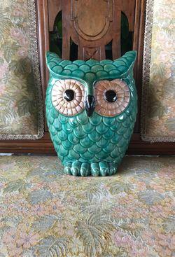 Decorative Owl Vase Thumbnail